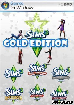 The Sims 3: Gold Edition / The Sims 3: Золотое издание (2012)