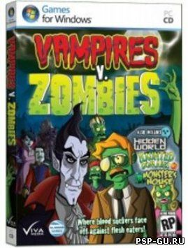 Вампиры против зомби / Vampires vs. Zombies (2011) PC