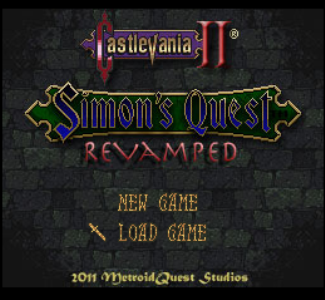Castlevania 2 Simons Quest - Revamped (2011) PC