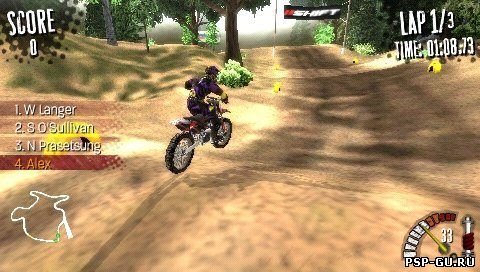 PSP MX vs. ATV Reflex ENG (2009). Tantalus Interactive Origin. THQ Platfo
