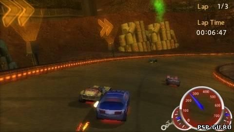 скриншоты к игре Hot Wheels Ultimate Racing на psp